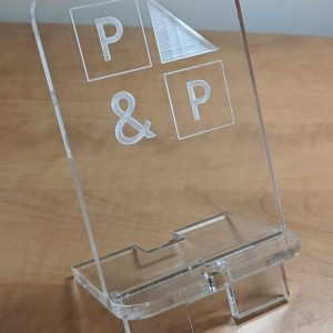 Acrylic Cell Phone Stand